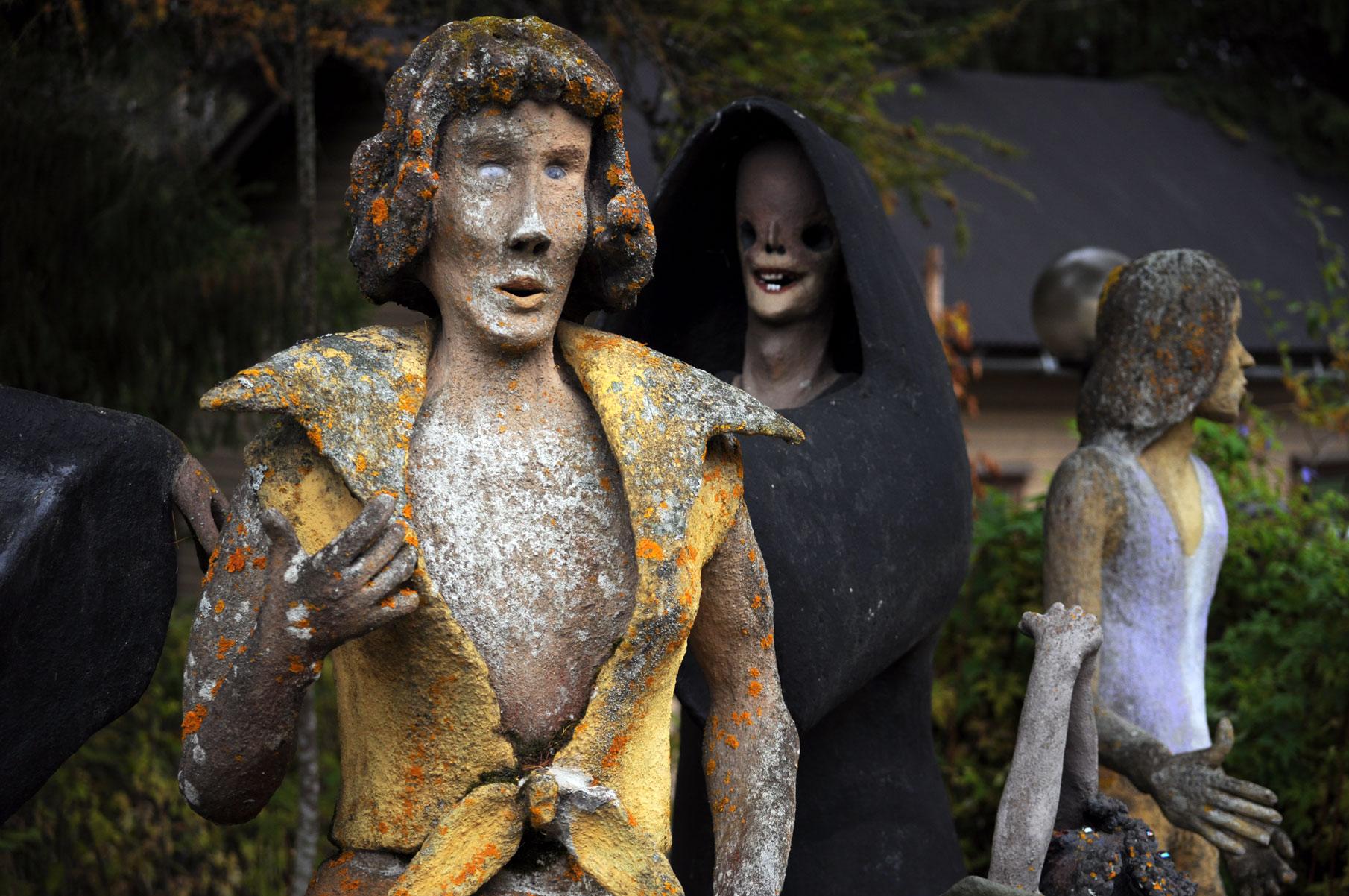 Парк жутких скульптур в Париккала в Финляндии (Фото)